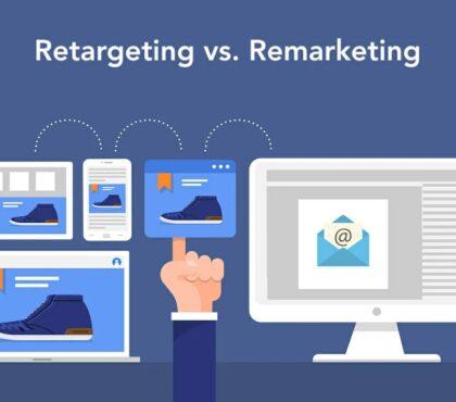 Retargeting vs. Remarketing